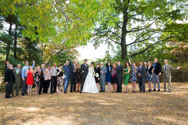 We were so lucky to be able to celebrate our union with so many people we love.