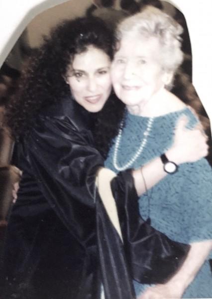Grandma Sophie, Social Work Program Graduation
