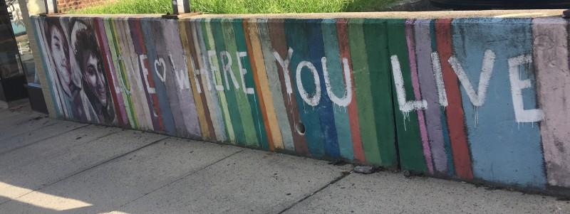 Street Art Brooklyn, Love Where You Live