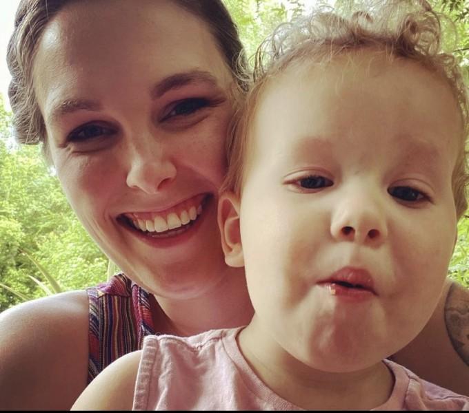 Kristin and nephew, Hudson