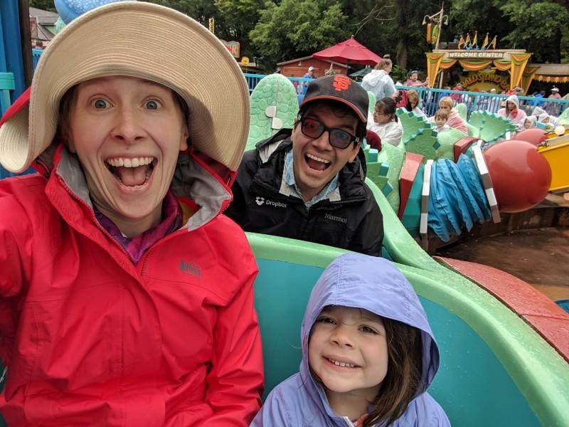 A rainy day at Disney World, 2019