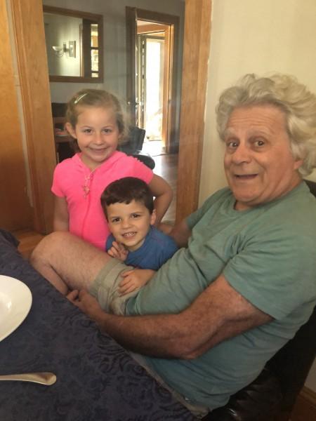 Mike's niece & nephew
