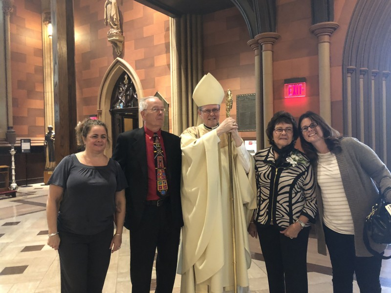 wedding anniversary blessing by the Bishop