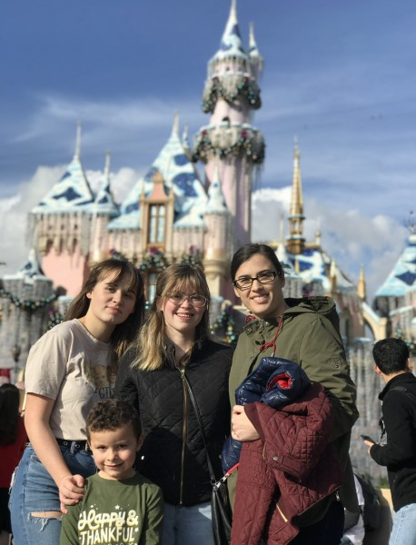 One of my favorite pictures from Disneyland with the kids!