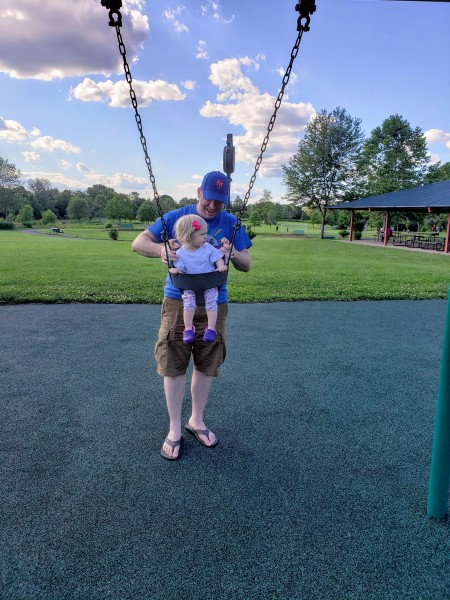 Swing with Dada!