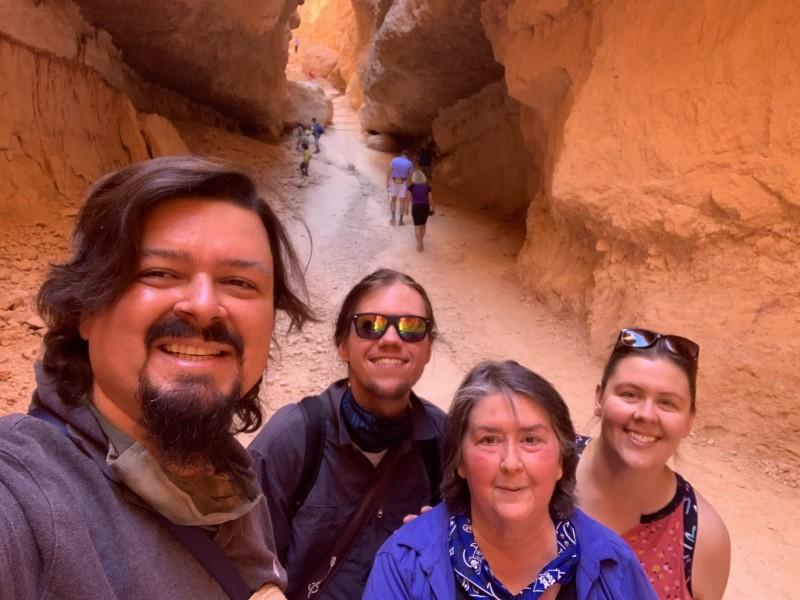 Hiking in Bryce Canyon, Utah