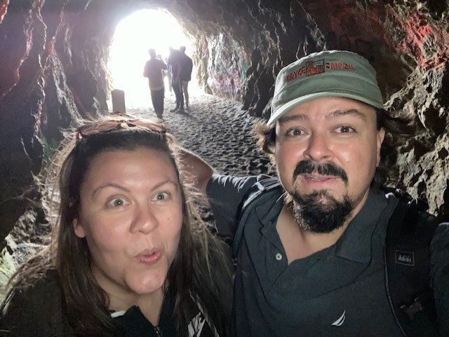 The tunnel next to Sutro Baths, Land's End, San Francisco-CA (https://www.nps.gov/goga/planyourvisit/cliff-house-sutro-baths.htm)