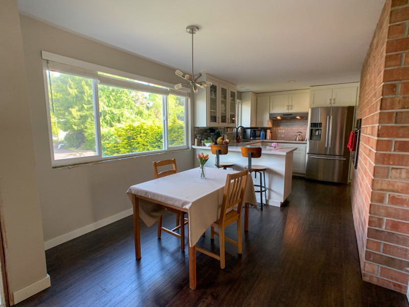We remodeled the kitchen ourselves!