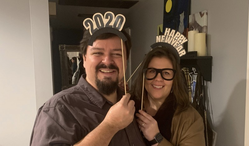 New Year's Eve party- bringing in 2020!