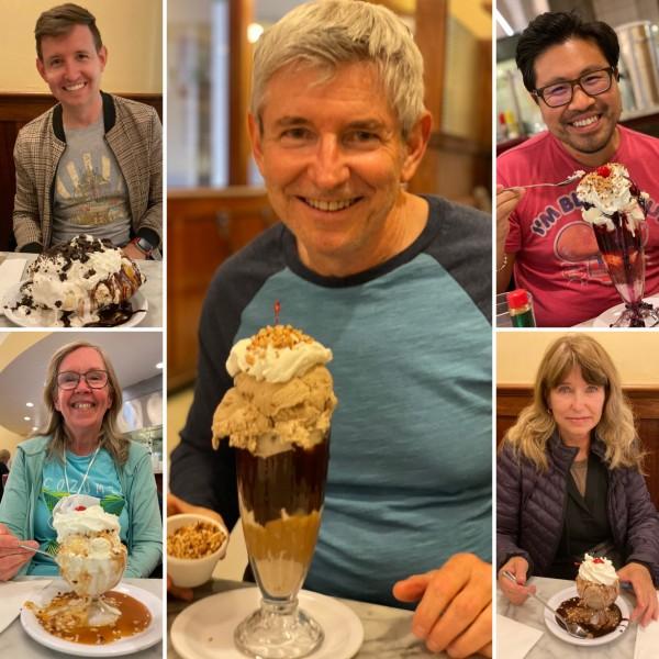 We love ice cream!