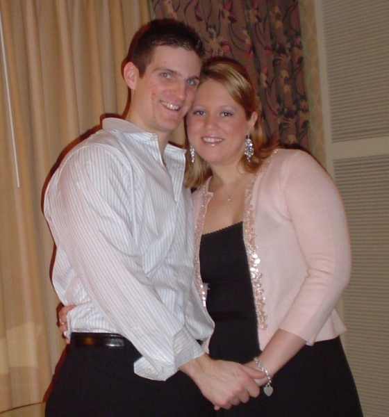 Artie and Kelly when we were newly dating in 2005