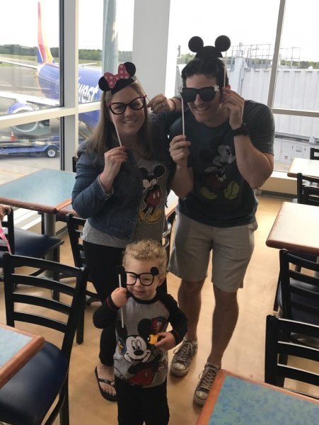 Excited to head to our first Disney cruise