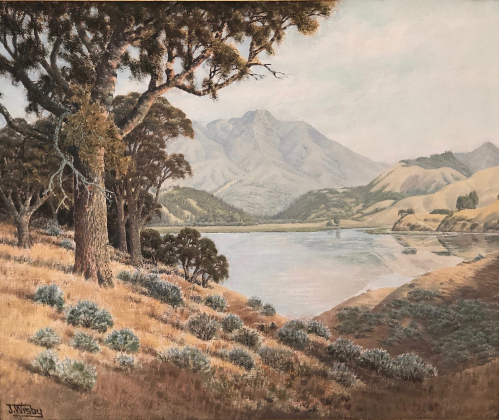 Jack Wisby:  - Historical Landscape Paintings of Marin County