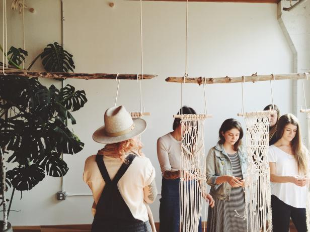 Macramé Workshop with Emily Katz