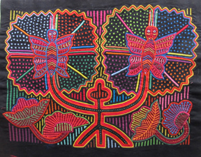 Cross Pollination - Molas & Huipiles from the Collection of Sandy Dierks