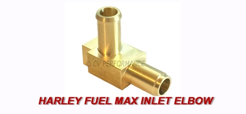 Harley Fuel Max Inlet from CV Performance
