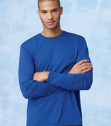 HANES COOL DRI LONG SLEEVE PERFORMANCE TEE