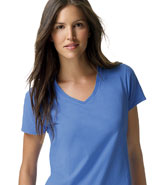 HANES NANO LADIES V-NECK