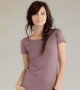 ALTERNATIVE APPAREL ORGANIC COTTON SCOOP NECK