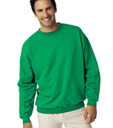 HANES 10 OZ. ULTIMATE CREW SWEATSHIRT