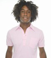 AMERICAN APPAREL FINE JERSEY SHORT SLEEVE LEISURE SHIRT