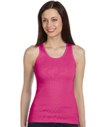 BELLA LADIES TANK TOP 2X1 RIB KNIT