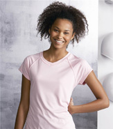 CHAMPION WOMEN'S DOUBLE DRY V-NECK