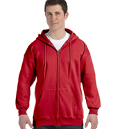 HANES ULTIMATE COTTON FULL-ZIP HOOD