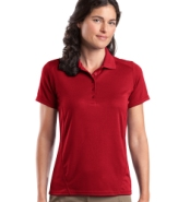 SPORT-TEK LADIES DRY ZONE RAGLAN ACCENT SPORT SHIRT