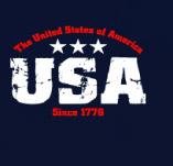 USA SINCE 1776 t-shirt design idea