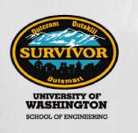 SURVIVOR CITY SCHOOL OF ENGINEERING t-shirt design idea