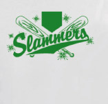 SLAMMERS BASEBALL t-shirt design idea
