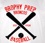 BROPREP BASEBALL t-shirt design idea