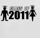 GIRL AND BOY SENIOR CLASS t-shirt design idea