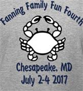 FANNING FAMILY FUN FOURTH t-shirt design idea