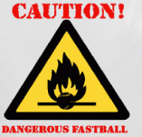 CAUTION! BASEBALL t-shirt design idea