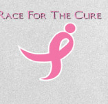 RACE FOR THE CURE BREAST CANCER t-shirt design idea