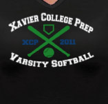 XCP VARSITY SOFTBALL t-shirt design idea