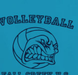 GREEK VOLLYBALL TEAM t-shirt design idea