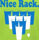 NICE RACK t-shirt design idea