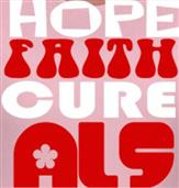 HOPE FAITH CURE ALS t-shirt design idea