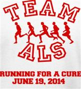 TEAM ALS t-shirt design idea