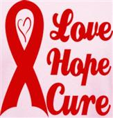 LOVE, HOPE, CURE t-shirt design idea