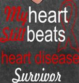 MY HEART STILL BEATS t-shirt design idea
