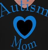 AUTISM MOM t-shirt design idea