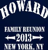 HOWARD REUNION t-shirt design idea
