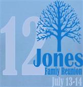 JONES REUNION t-shirt design idea