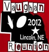 VAUGHAN REUNION t-shirt design idea