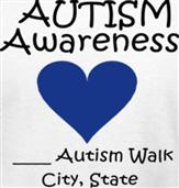 AUTISM AWARENESS t-shirt design idea