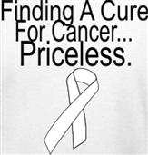 CANCER PRICELESS t-shirt design idea